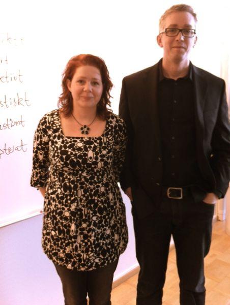 Jenny Eklund och Thomas Fritz, Sprind AB.